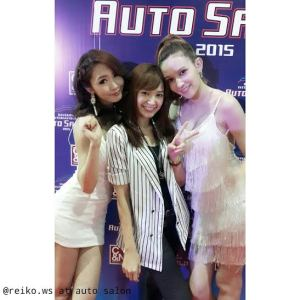 Translotor for Japanese Sexy stars in Bangkok international Auto Sallon 2015 / June 2015